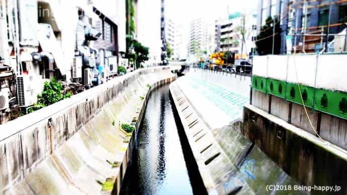 渋谷川工事