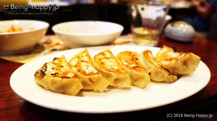 バーミヤンの焼き餃子