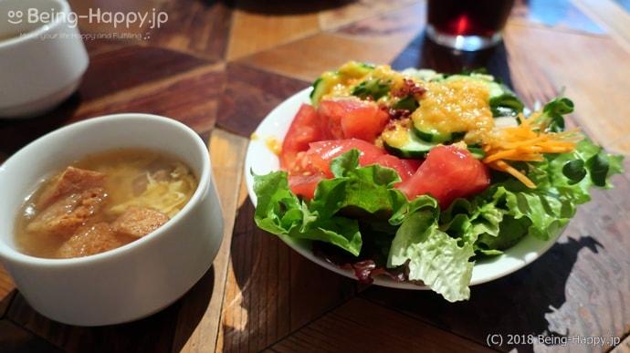 ガブリシェア渋谷店ーサラダとスープ