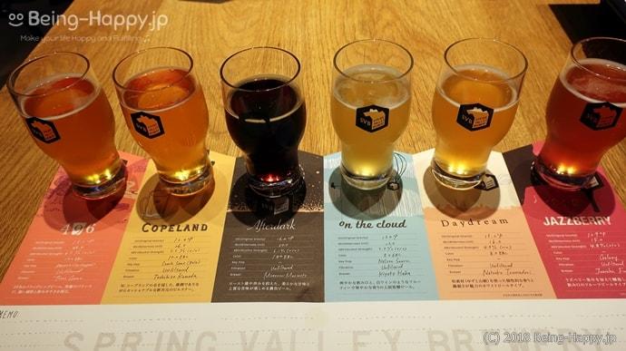スプリングバレーブルワリー東京のクラフトビール