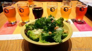 スプリングバレーブルワリー東京のサラダ
