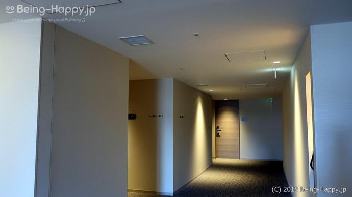 リッチモンドホテル横浜駅前の外観の廊下