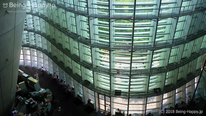 国立新美術館 - ガラスカーテンウォール