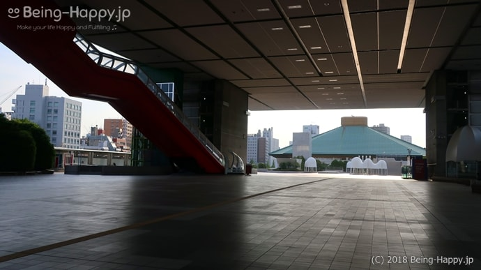 江戸東京博物館 入り口