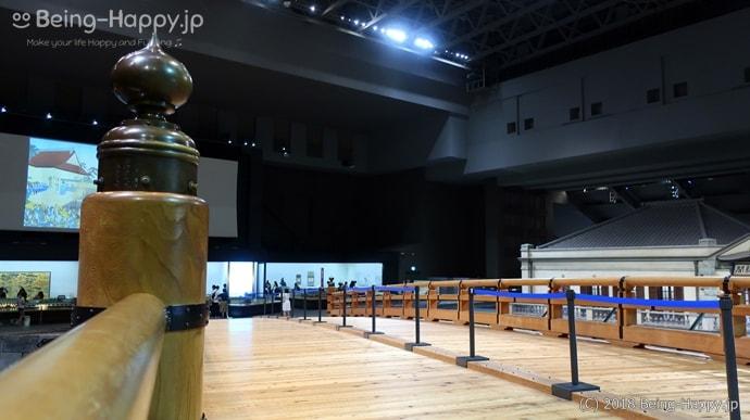 江戸東京博物館 実物大日本橋