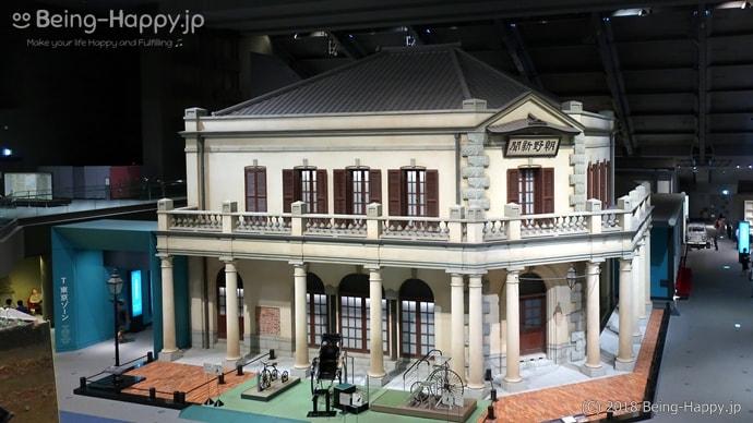 江戸東京博物館 朝野新聞(ちょうやしんぶん)