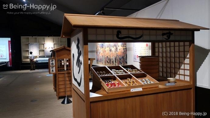 江戸時代の寿司屋台