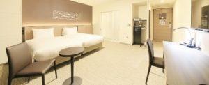 リッチモンドホテル横浜駅前・ユニバーサルツインルーム