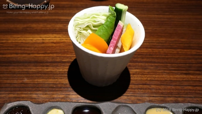 串亭ー野菜スティック