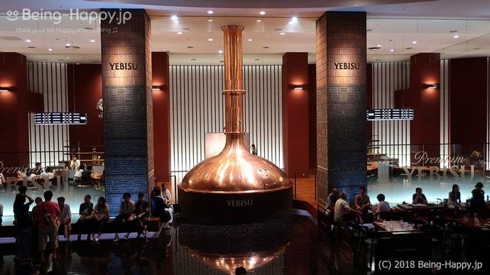 ヱビスビール記念館の館内