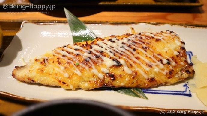 鯖のマヨネーズ味噌焼き