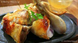 ワインノルイスケ 名物ヒナ鶏の石窯焼き