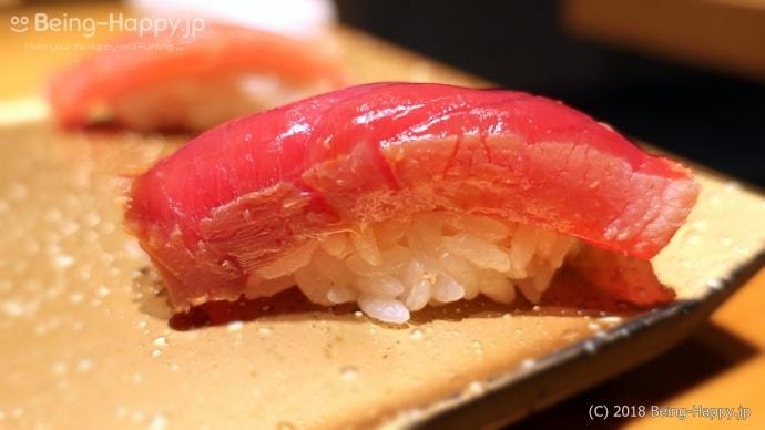 SUSHI TOKYO TEN、(スシトウキョウテン) 本まぐろ赤身の握り