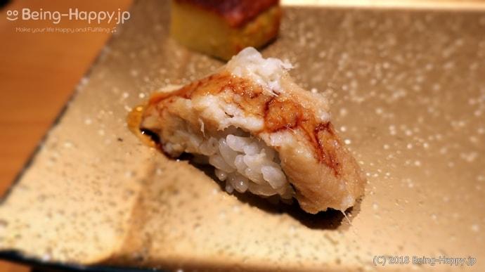 SUSHI TOKYO TEN、(スシトウキョウテン) 煮穴子の握り