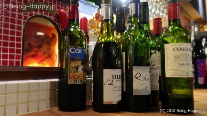 ワインノルイスケ たくさんのワイン