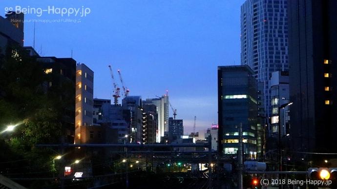 クレーンが乱立する渋谷再開発