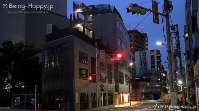 灯が付いていない渋谷ブリッジ