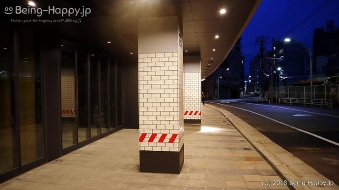無人の渋谷ブリッジ