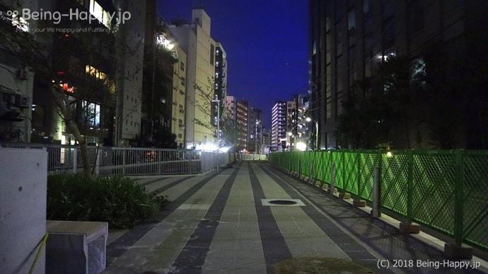 遊歩道:今は無人の遊歩道