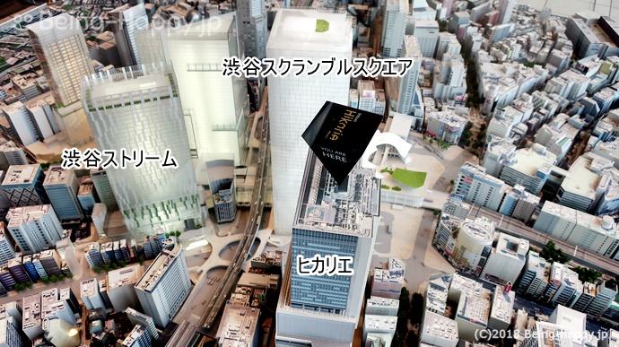 渋谷スクランブルスクエア の場所
