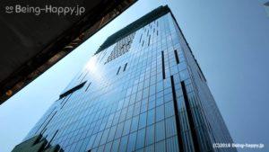 渋谷スクランブルスクエア を仰ぎ見る