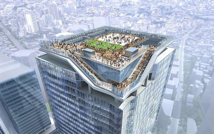 渋谷スクランブルスクエア展望施設