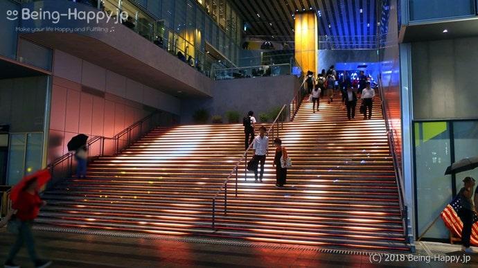 渋谷ストリームの大階段