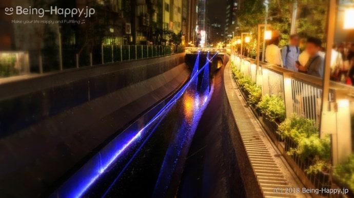 渋谷川の灯籠