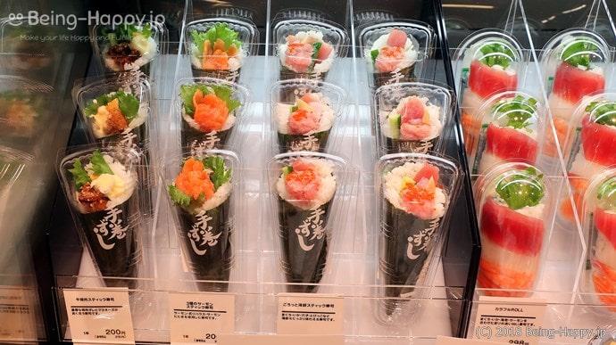 プレッセ シブヤ デリマーケット 美しい手巻き寿司のパッケージング