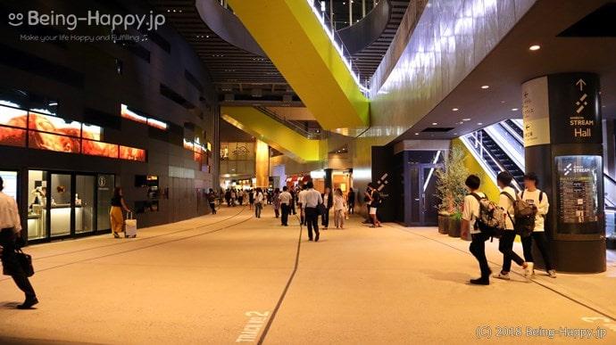 渋谷ストリームとテーマカラーのストリームイエロー