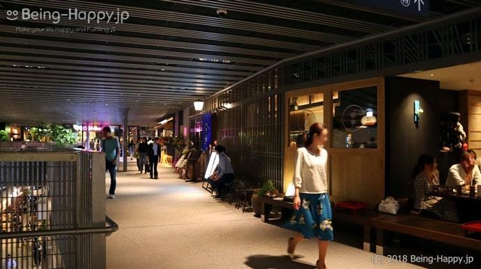 渋谷ストリーム3階の様子