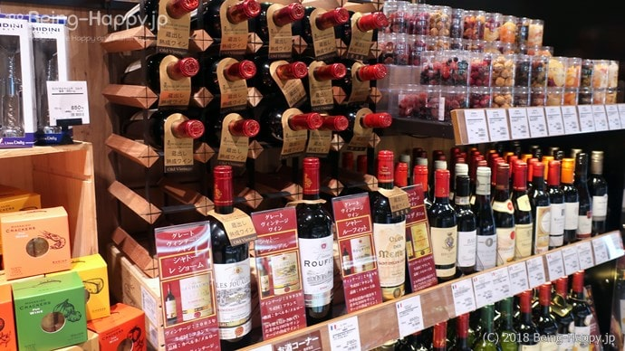プレッセ シブヤ デリマーケット 充実のワイン