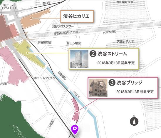 渋谷川 探索マップ1