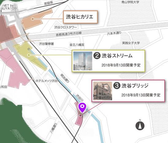 渋谷川 探索マップ2
