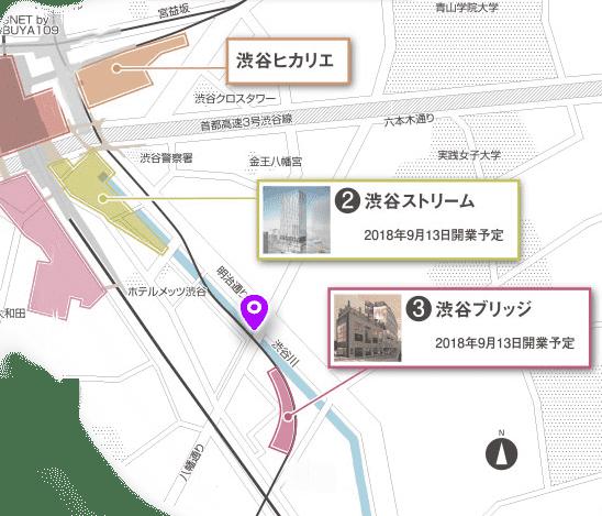 渋谷川 探索マップ3