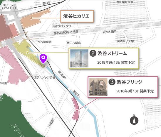 渋谷川 探索マップ5
