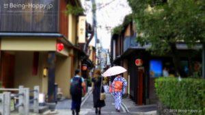 京都 祇園四条の路地
