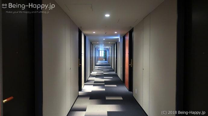 アーバンホテル京都二条プレミアムの廊下