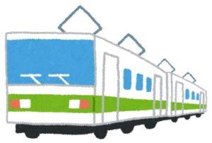 電車'(西武新宿線イメージ)