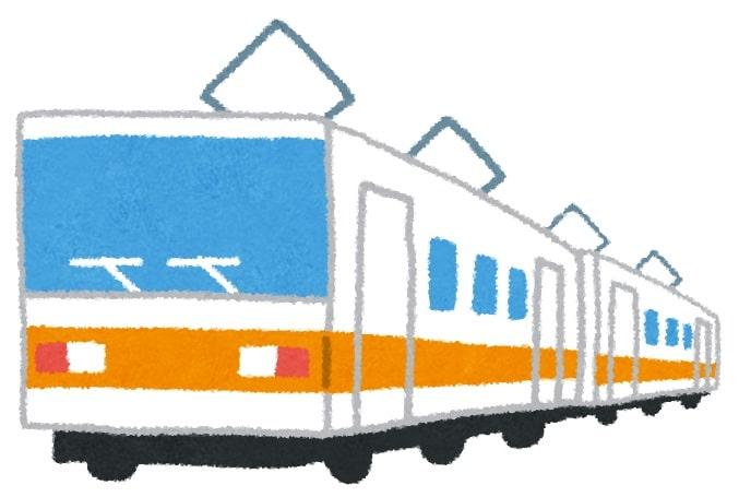 電車'(西武池袋線イメージ)