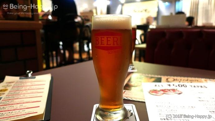 シュマッツ・ビア・ダイニングのビール