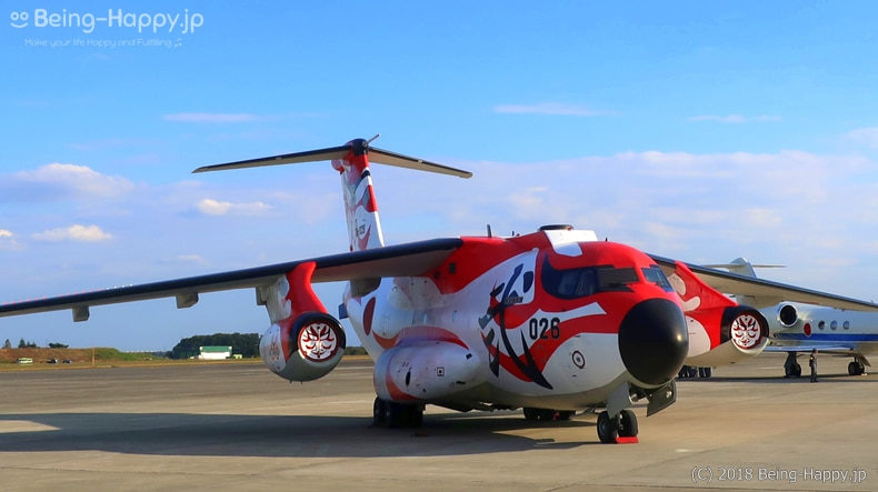 入間航空祭 六十周年記念特別塗装のC-1