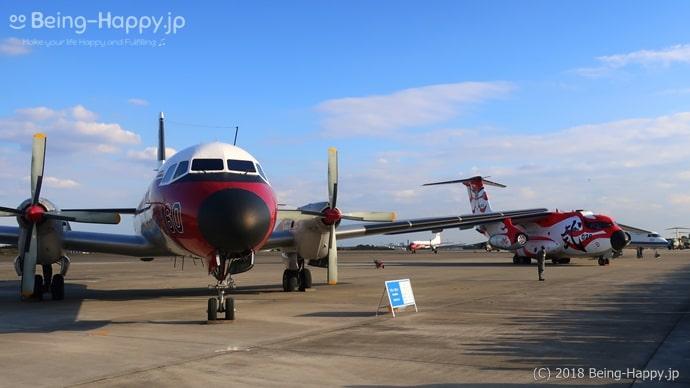 入間航空祭の地上飛行展示(YS-11)