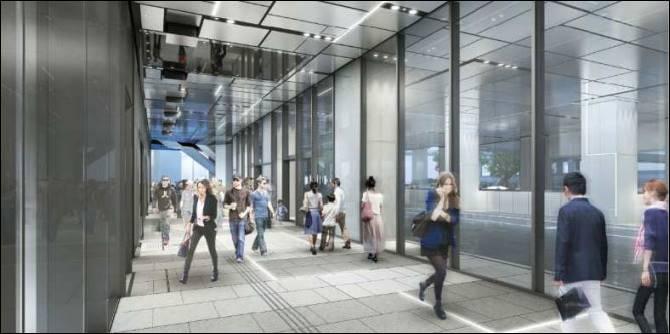 渋谷フクラス1F バスターミナル