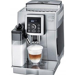 デロンギ コンパクト全自動コーヒーマシン マグニフィカ S カプチーノ シルバー