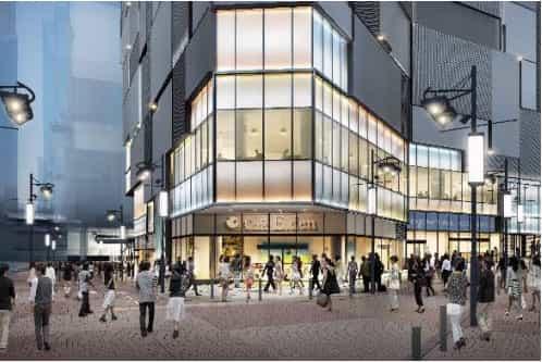 渋谷フクラス 北西側周辺街路