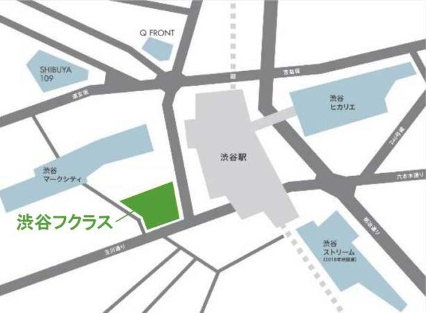 渋谷フクラス所在地