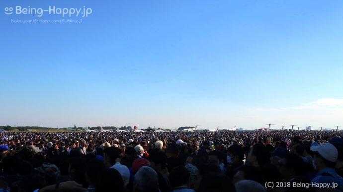 入間航空祭018の人混み