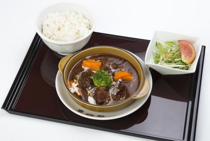 味の牛たん 喜助 東京丸の内パークビル店の牛タンシチュー