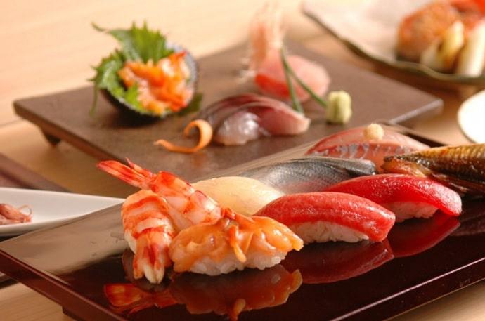 まんてん鮨の寿司